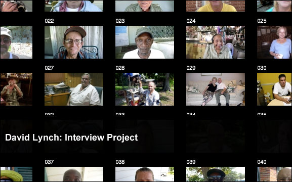 David Lynch: Interview Project
