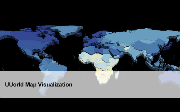 UUorld Map Visualization